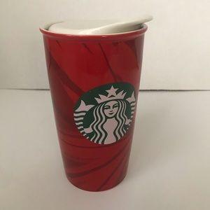 Starbucks Holiday Christmas Travel Tumbler Mug